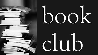 Wright Library Book Club logo